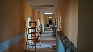 AWF - repair works of the Dormitory